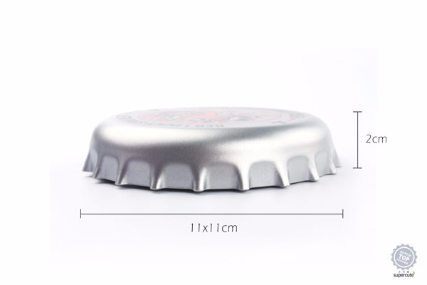 2017 New Arrival Cooling Design Abs Bottle Cap Coaster Drink Coasters  Stunning Cup Mat - Buy Coaster Product on Alibaba com