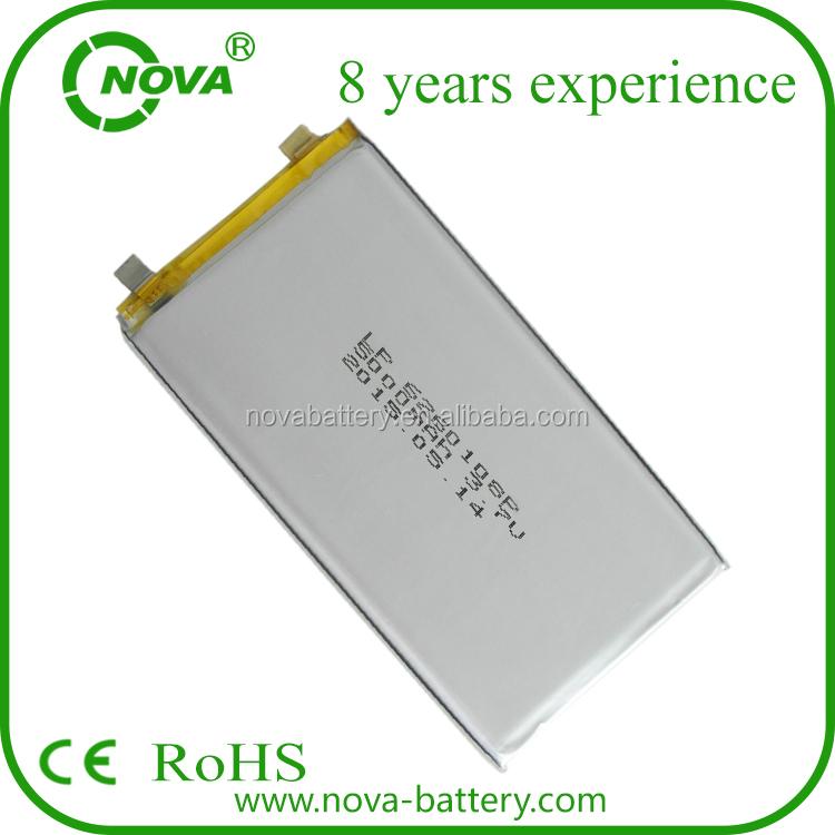 China Supplier Lipo Battery 5000mah 3.7v,5000mah Lithium Battery ...
