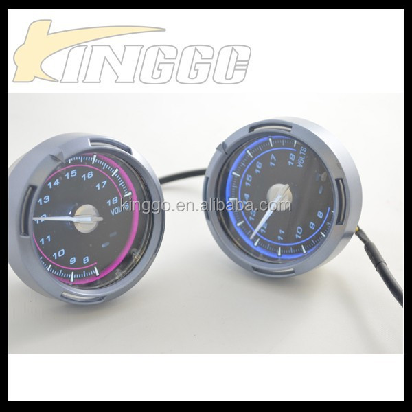 Racing Universal 60mm 80mm LCD Universal Auto Meter Gauge Digital