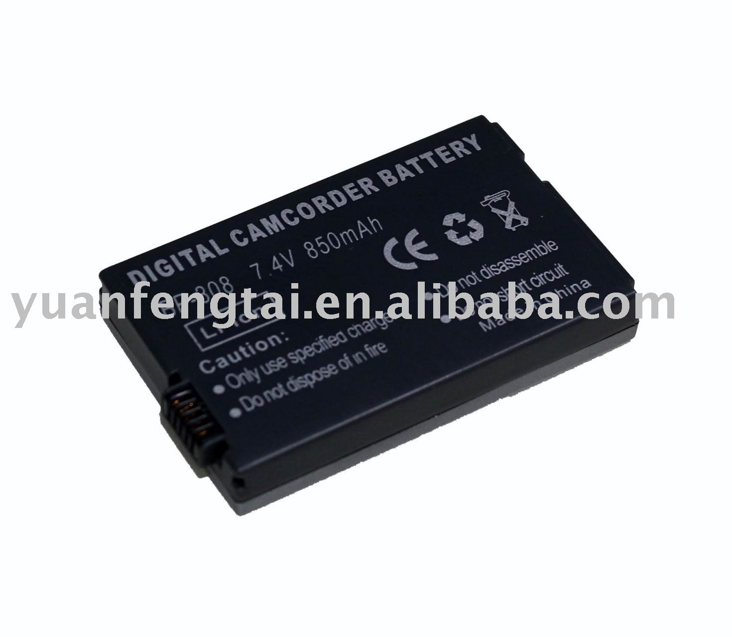 Camcorder Camera Battery For CANON BP-308 BP308