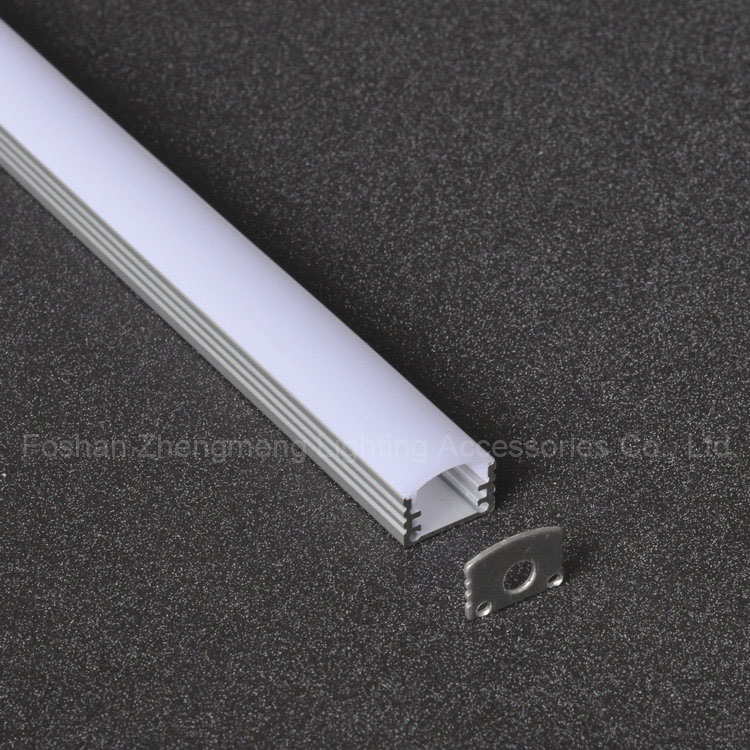 wall recessed mounted led aluminum profiles for led light bar cabinet kitchen cupboard decoration
