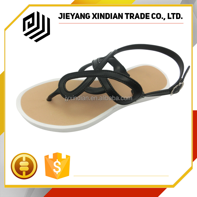 Womens Party Beach Dress Flat custom slide sandal cheap price sale