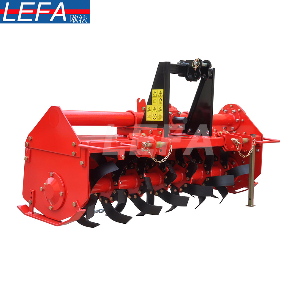 Multipurpose Asia Agricultural Machinery farm compact tractor mini rotary tiller 3 point hitch garden cultivator for sale