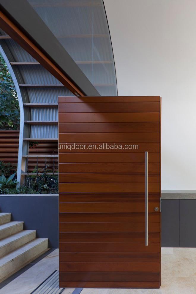 Big Size Solid Wood Pivot Entry Door For Villa Buy Pivot Door