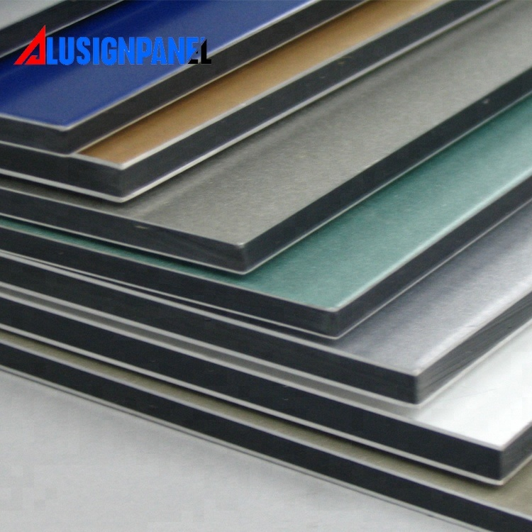 recyclable construction materials alucobond /acp sheet/aluminum composite panel
