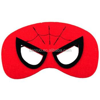 Kids Halloween Mask Animals Felt Mask/spider-man Superman Felt ...