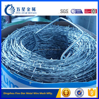 Buy Barbed wire length per roll in China on Alibaba.com