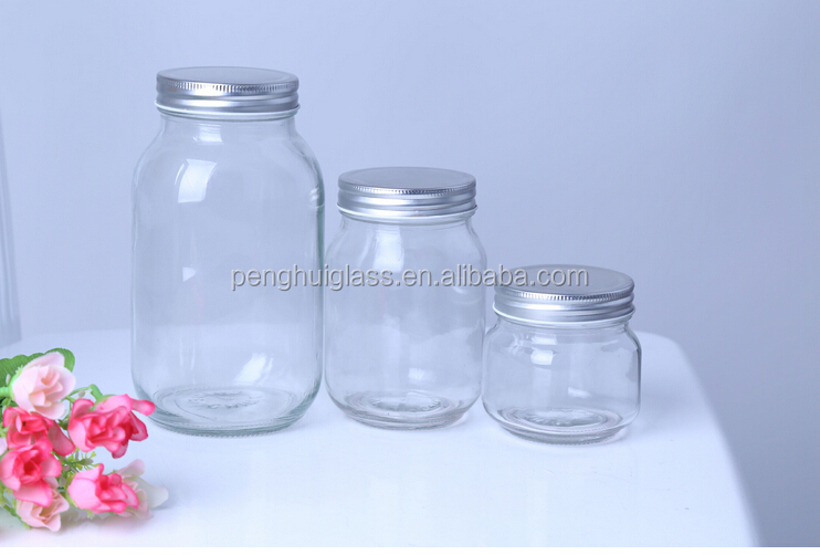 High quality glass mason jar,glass bottle