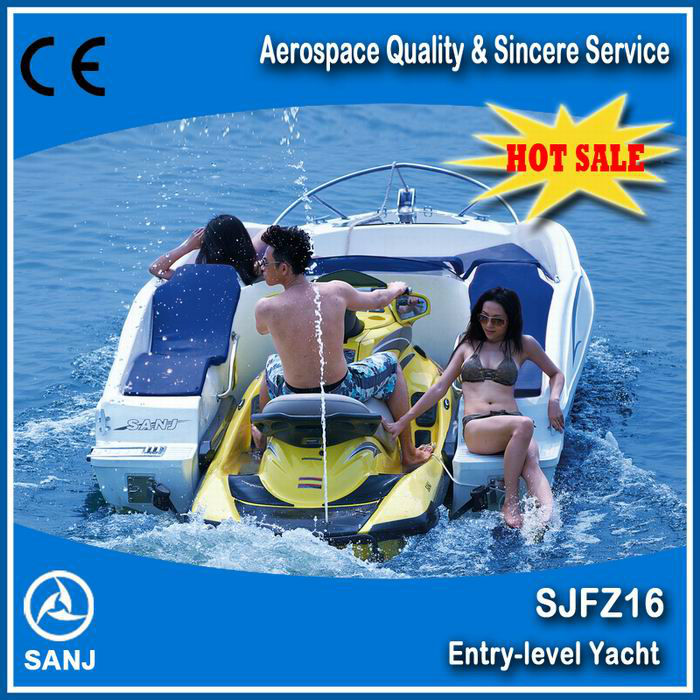 New 2017 SANJ Personal watercraft jet ski water scooter Mate Combined boat small jet boat