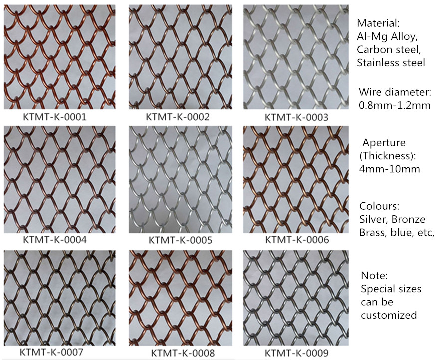 silver metal fabric clothingmetal mesh curtainarchictural decorative metal screen mesh for room - Decorative Wire Mesh