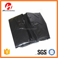 Enlarge and thickening Black flat Garbage bags