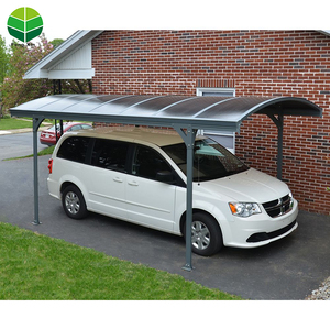 Good Quality Single Slope Carport 2 Car Metal Inflatable Carport Garage
