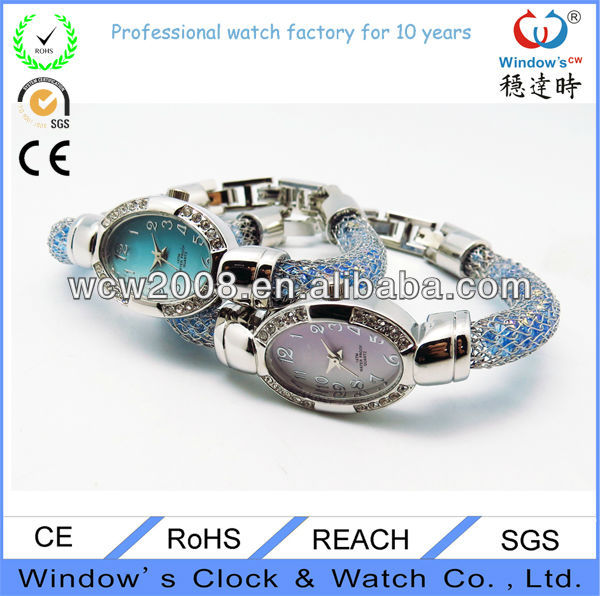 Charming odm bead jewelry watch wrist watches for ladies