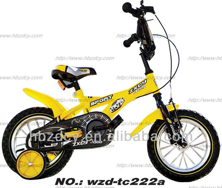 Chinese 6 person bike kids bicycle with training wheels