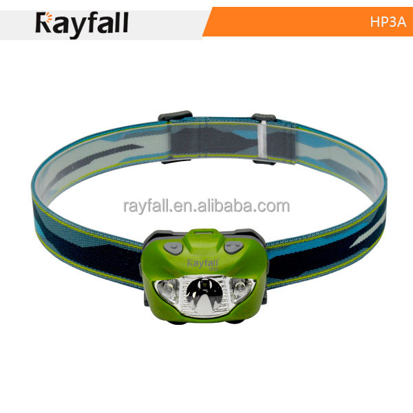 Sport led head lamp elastic running belt lighting for night walking