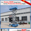 Moveable scissor electric aerial platform lift with discount