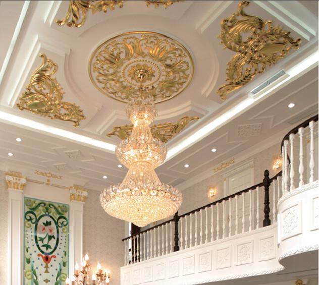 Decorative Interior Plastering : Chinese hot sale flower designs plaster of paris ceiling