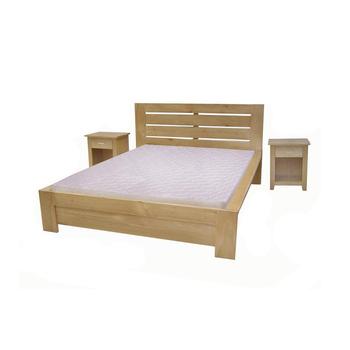 Muebles De Dormitorio Cama De Madera Maciza De Pino Marco Derribado ...