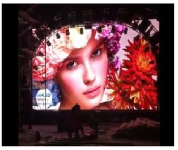 Dynamic Billboards Indoor P3.91 LED Display for Stage Background