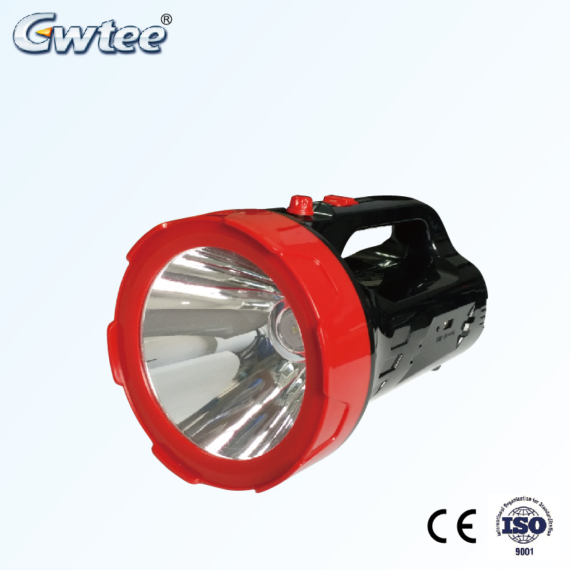 OEM rechargeable high power outdoor led searchlight and led spotlight