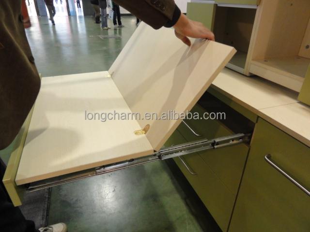 Gb Zinc Alloy Cabinet Flat Hinge Table Concealed Hinge