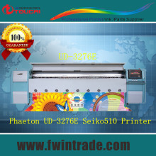 HOT!!! 150sqm/hr 3.2M Seiko 1020/508GS Head inkjet printer