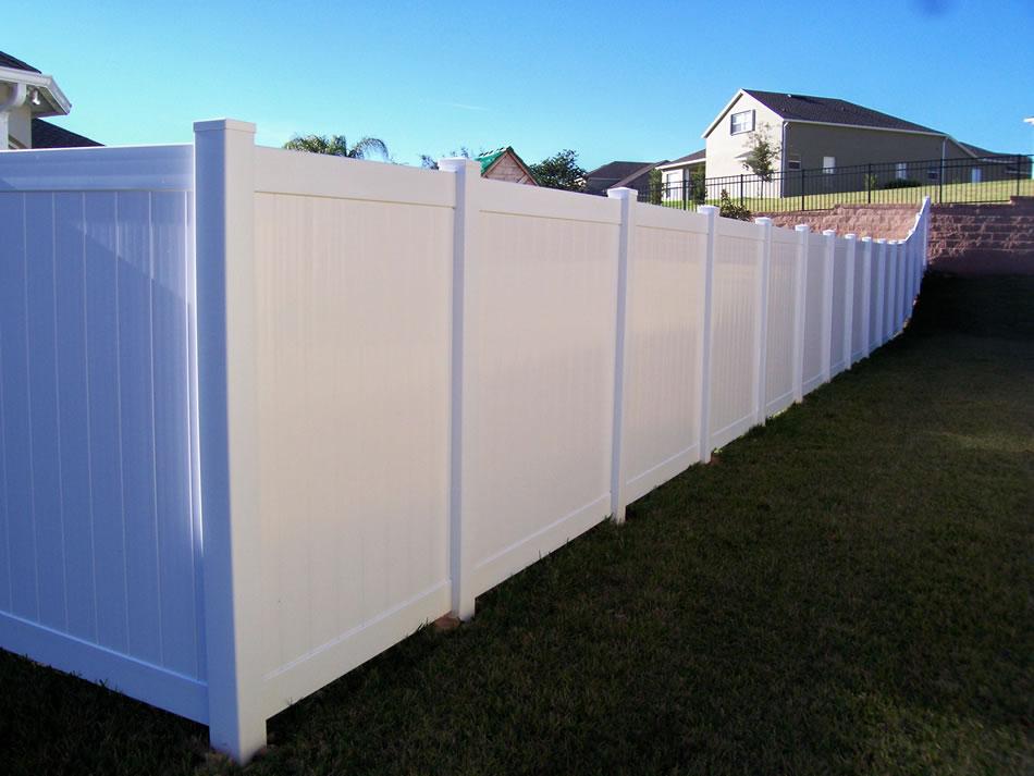 Uv Protection White Cheap Pvc Vinyl Fence Privacy Garden Fence