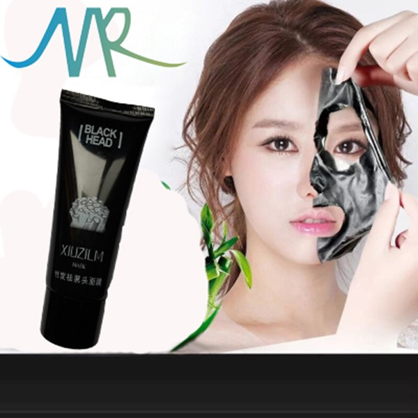 hot! acne blackhead remover facial mask Cosmetic korean anti wrinkle Best Bamboo Charcoal blackhead face mask for deep cleaning