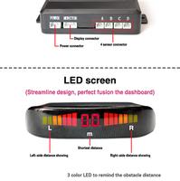 Fancy Design Oem Brand 4 Detector Back Distance Alert Car Parking ...
