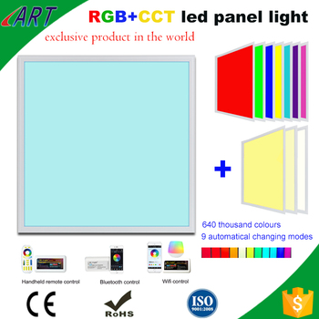 Shenzhen Supplier Rgb+cct Led Panel Light,Ce Rohs Certification Rgbw ...