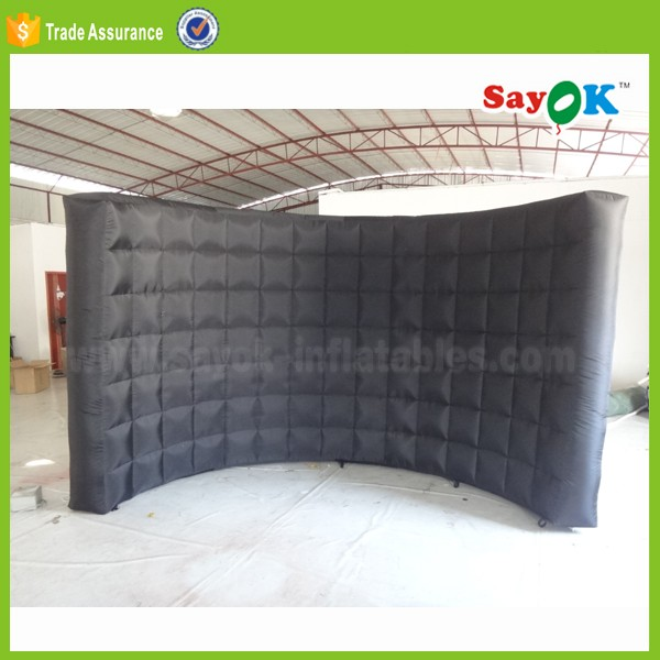 outdoor advertising led inflatable lighting photo spray booth kiosk frames manufacturer