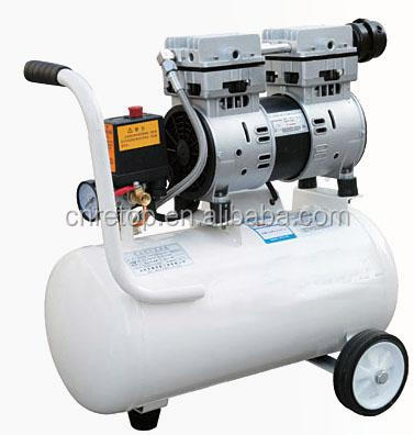 OF-800-50L portable dental unit with oil free air compressor quiet