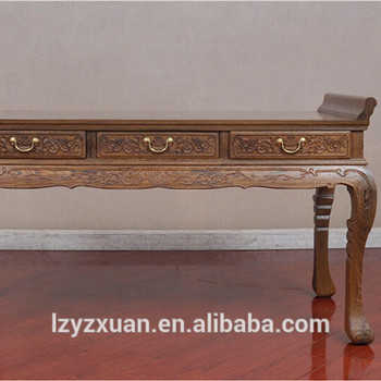 Low Price Indian Style Wooden Living Room Furniture Console Table