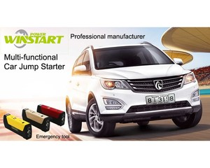 power bank car battery multi-function jump starter with tyre inflator