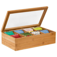 Natural Color Bamboo <span class=keywords><strong>차</strong></span> 백 주최자 Storage Box
