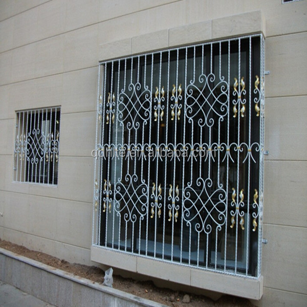 Modern iron window grill design for home buy window for Iron window design house