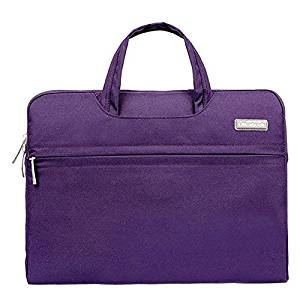 Notebook Bag for Macbook Air Pro - SODIAL(R) Fashion Universal Laptop Ultrabook Notebook Skin Bag &for Macbook Air Pro Sleeve Case (Purple 15 inch)
