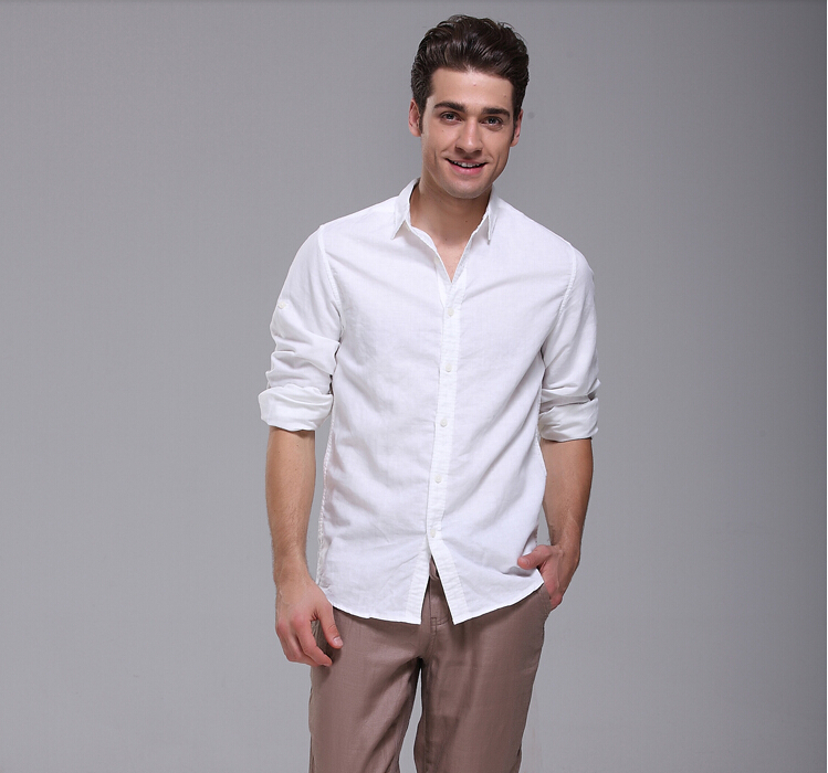 Our casual button up shirts for men are the true essential. Whether it's the soft linen shirts or relaxed cotton shirts, get one in every color and style! These casual button up shirts for men can be styled as desired, simple & classic or bold & exotic.