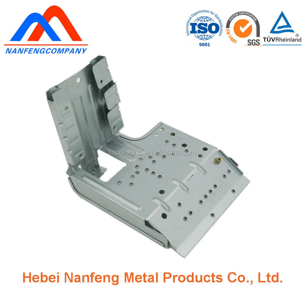 Air conditioning electrical box bracket sheetmetal parts