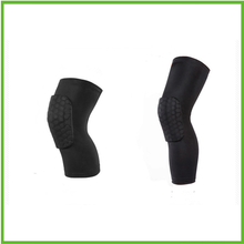 New style Knee Leg Support ,Strengthen Breathable Kneepad Honeycomb Pad Crashproof Antislip Knee guard
