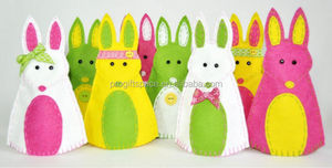 hot sale for Easter made in China hot sale handicraft new products promotional item felt easter rabbit