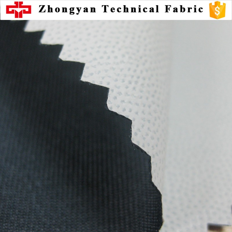 100% polyester twill waterproof coated jacket fabric for cycling wear