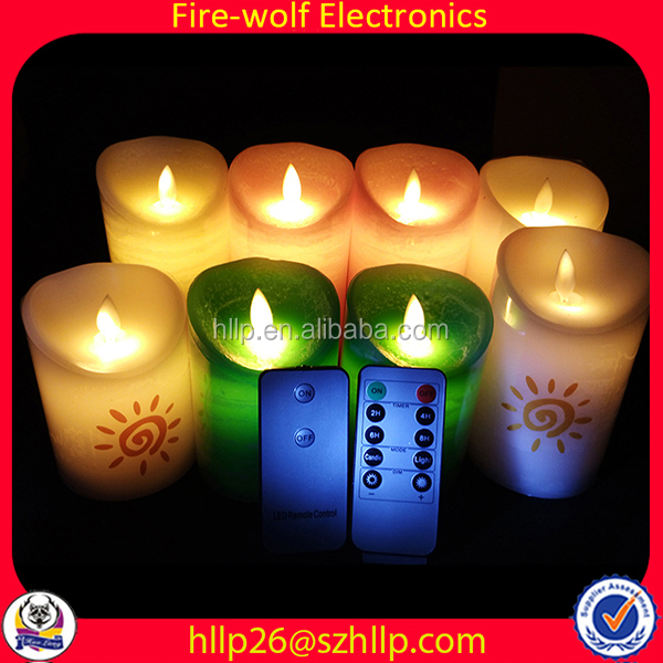 Flameless Candle Manufacturer Oem Led Candle