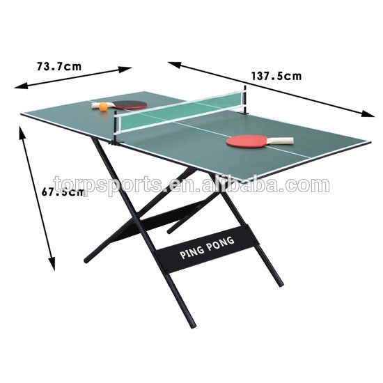 Small Size Table Tennis Table Easy To Carry Pingpong Table