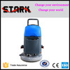 Commercial robot electric floor scrubber , concrete floor cleaning machine