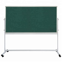 Customized High quality magnetic felt notice board soft cork board with stand