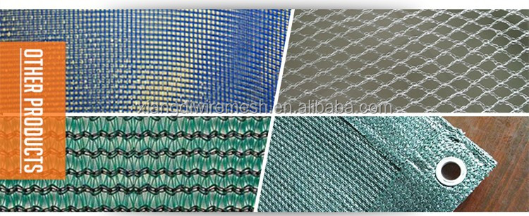 HDPE waterproof plastic shade net 3-8years