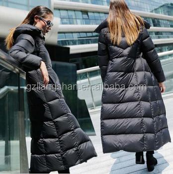 Oem Wholesale Fashion Women's Thicken Winter Full Length Warm Long ...