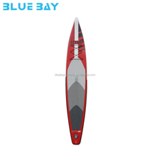 12'6'' Inflatable Touring / Race SUP Stand Up Paddle Board, 6'' thick
