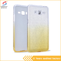 Best price Bling Tpu pc gold color cell phone cover case for samsung galaxy grand prime G530